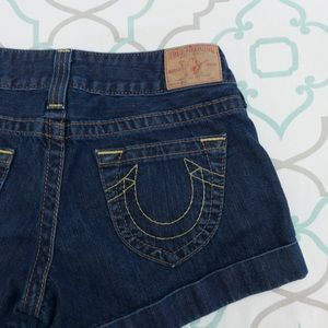 💙👖TRUE RELIGION! JESS SHORTS CUFFED👖💙25(0)